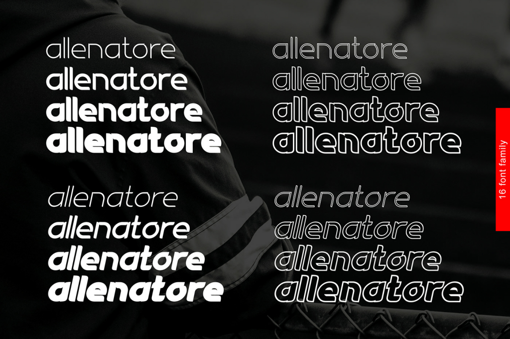 Allenatore - Sporty Sans Family- example image 2