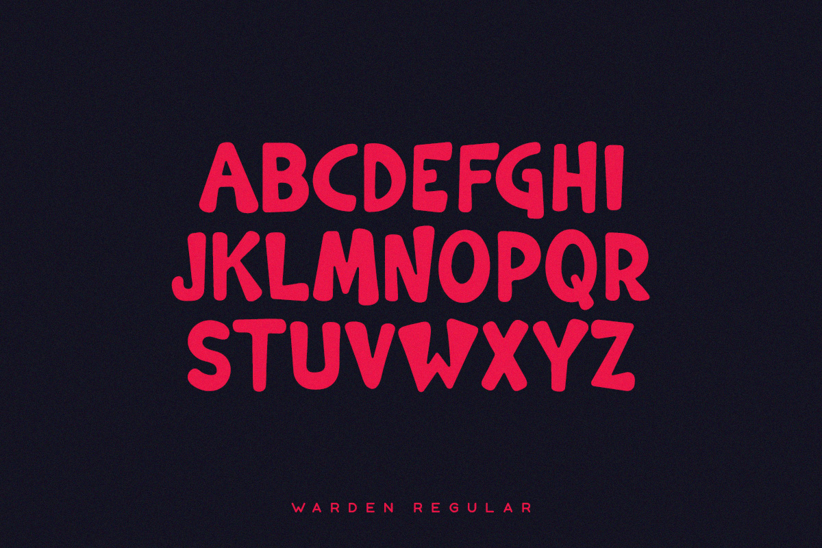 Warden Typeface example image 2