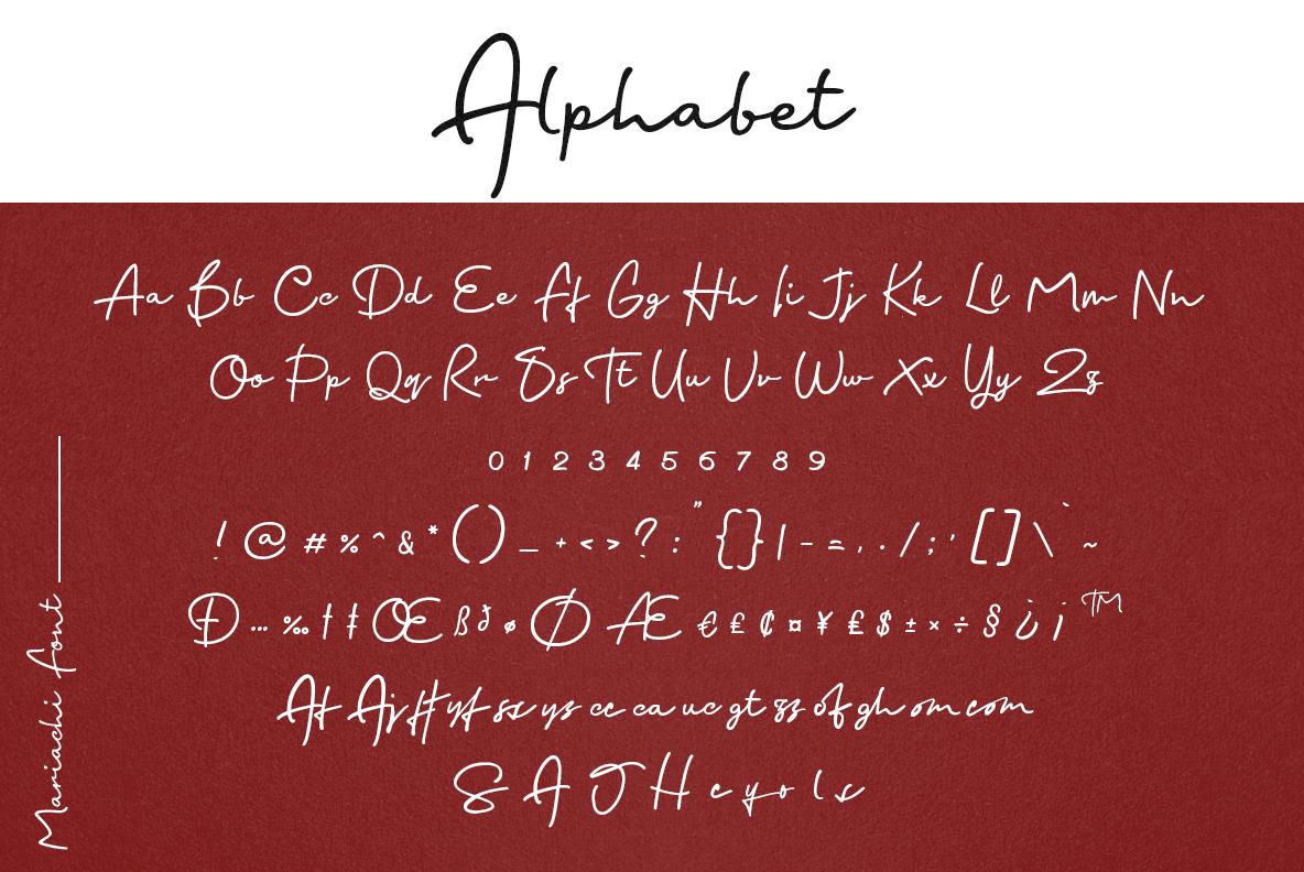 Mariachi Script example image 22