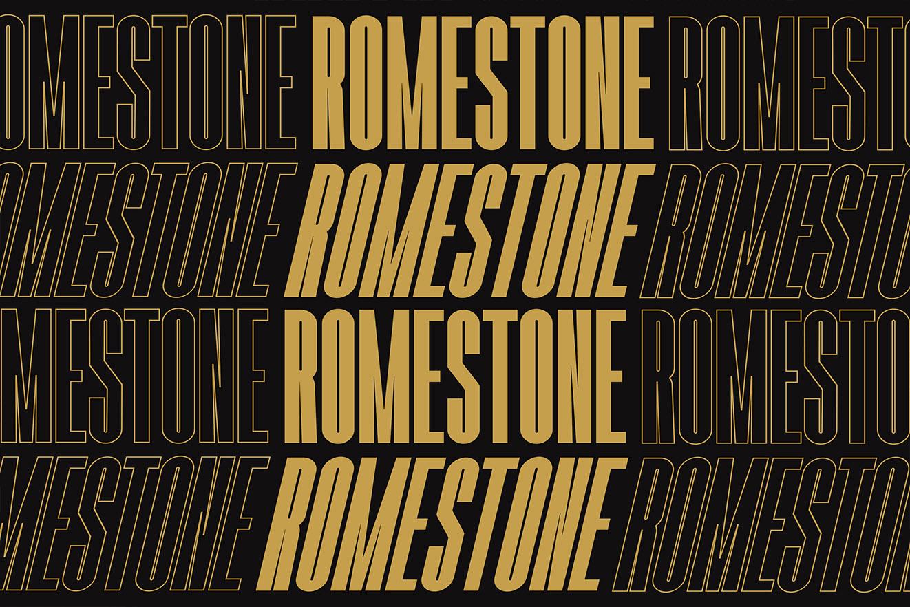 Romestone - Super Condensed Sans example image 3