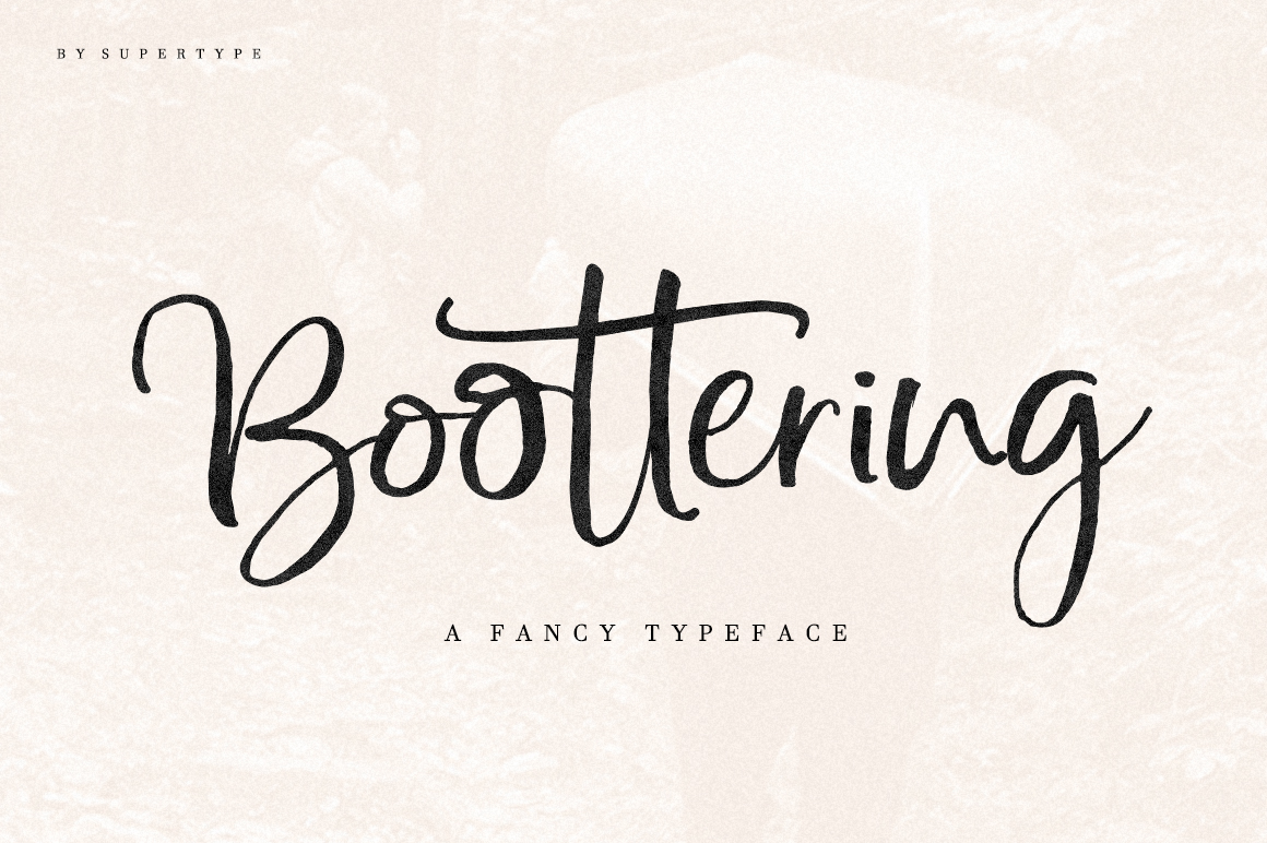 Boottering | Font Duo example image 12