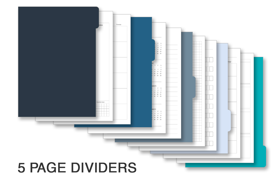 Planner kit vol.4. Universal design example image 2