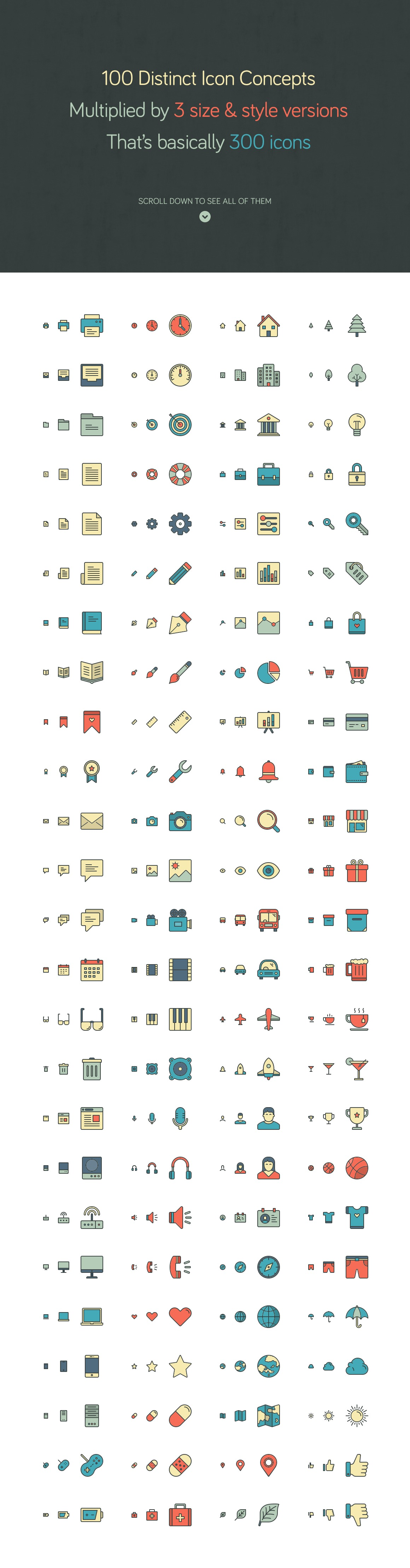 Responsive Icons – The Complete Pack example image 2