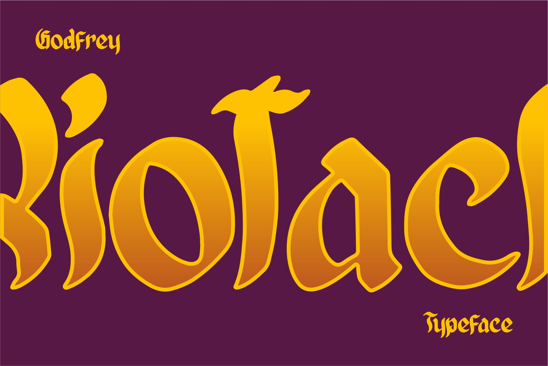 GODFREY - Blackletter example image 7