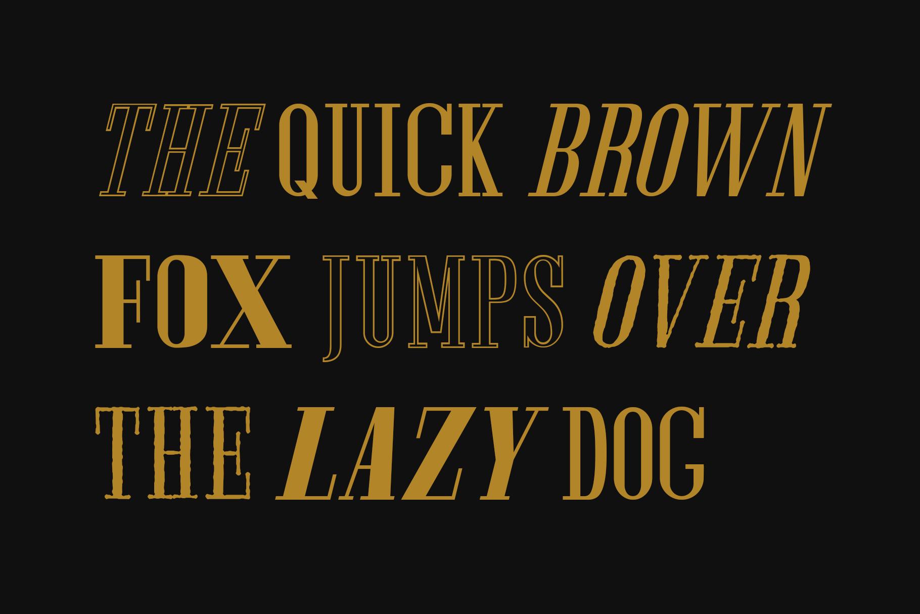 Furano Gyo font example image 9