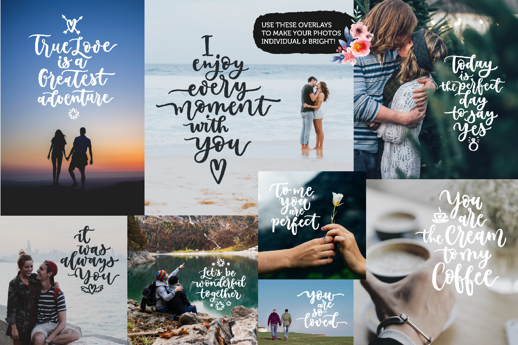 Romantic Overlays, Greetings example image 7