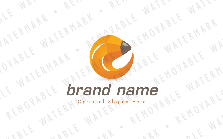 Pencil Circle Logo example image 2