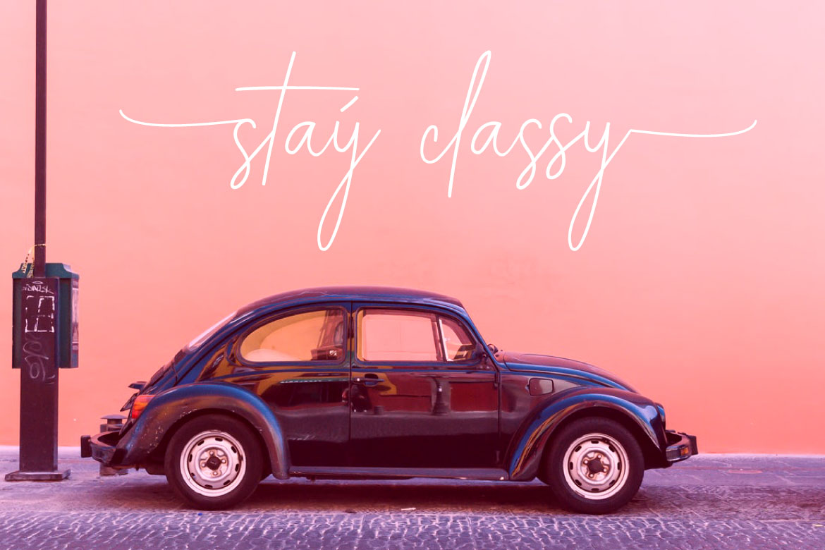 ALEXANDER LETTERING | Stay Classic example image 6