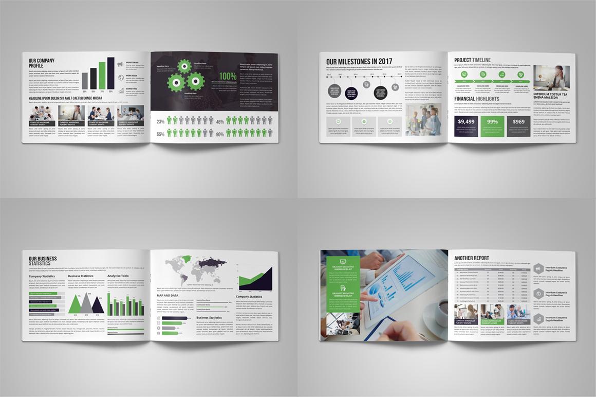 Annual Report Brochure Design v4