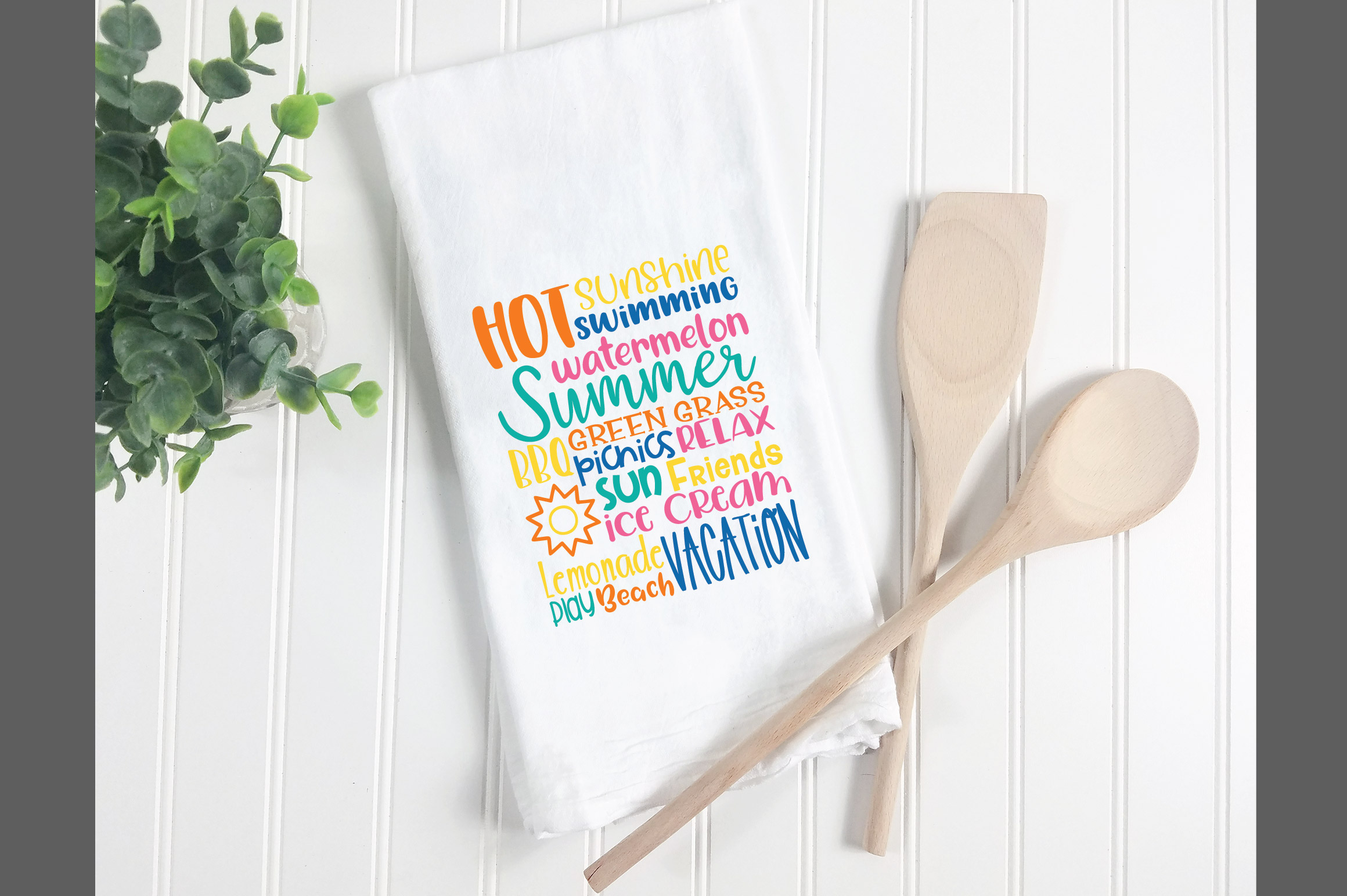 Summer Subway Art SVG Cut File example image 5