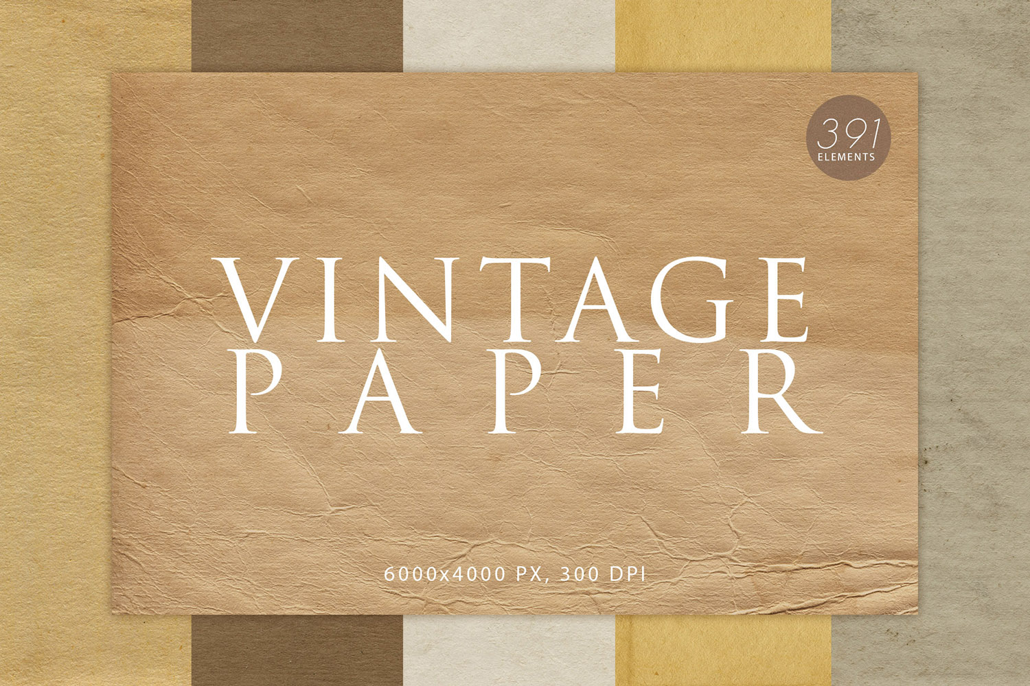 391 Vintage Paper Textures example image 1
