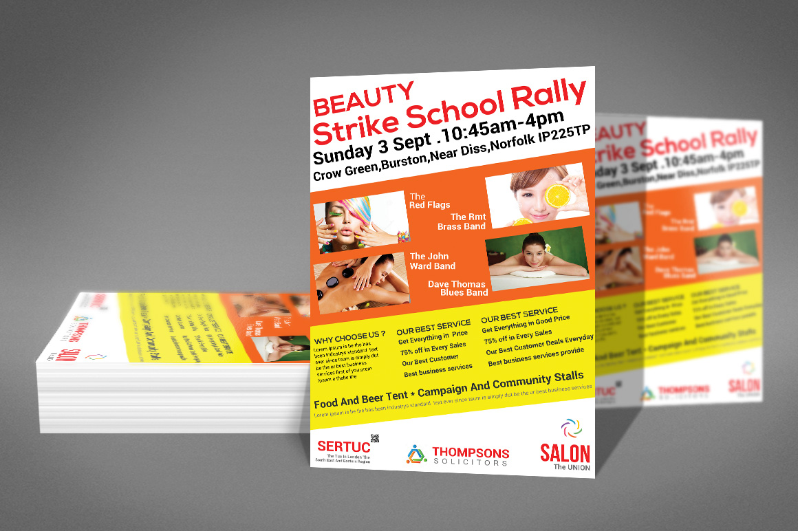 Beauty Flyer example image 3