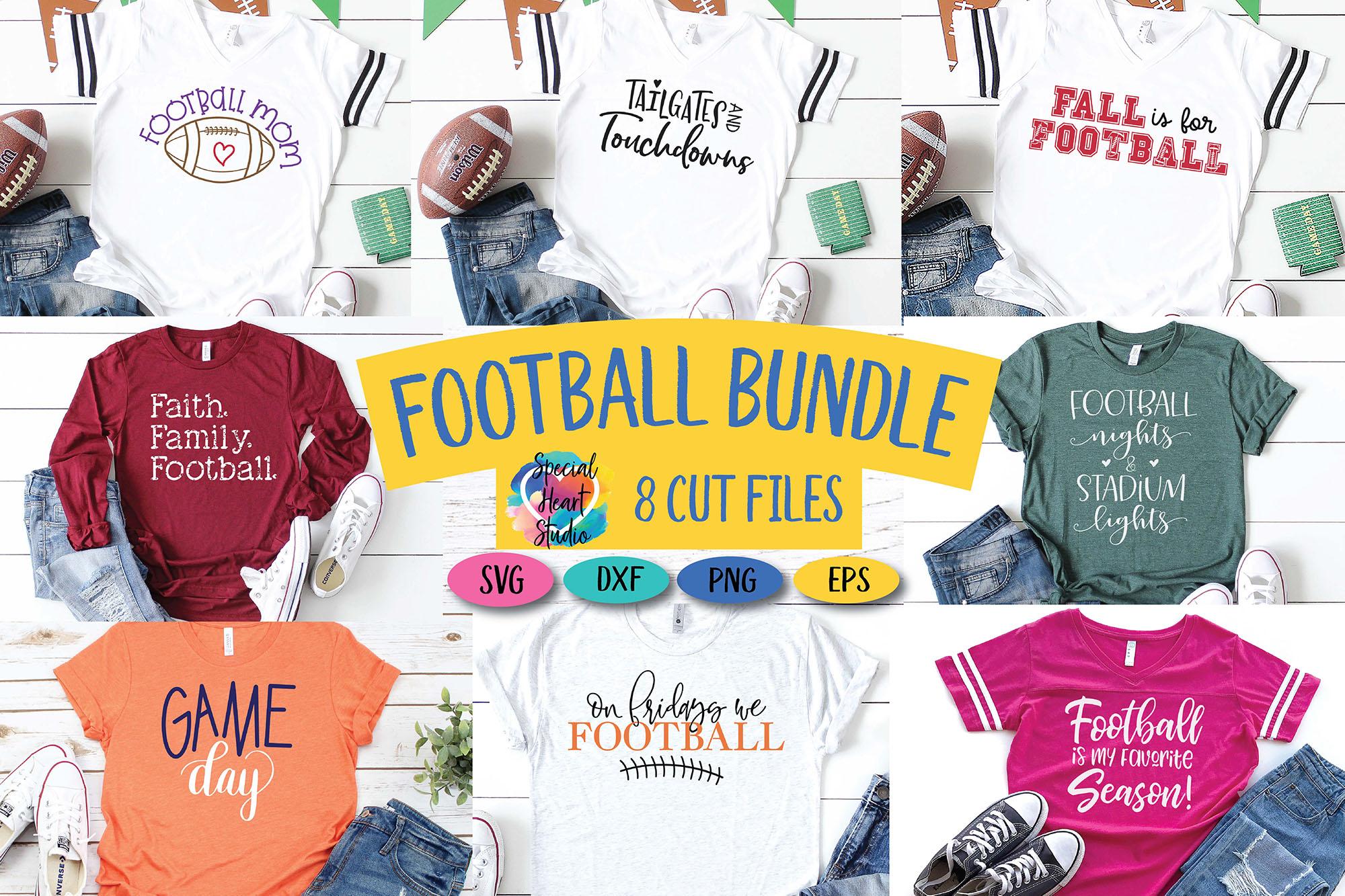 Football Bundle - An football fan SVG Cut File Bundle example image 1