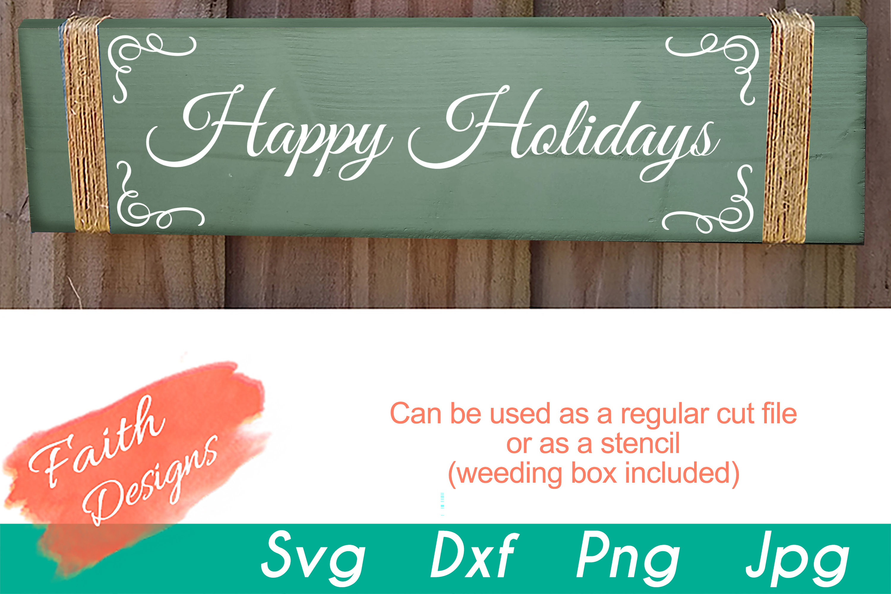 Christmas Porch Sign Bundle example image 4