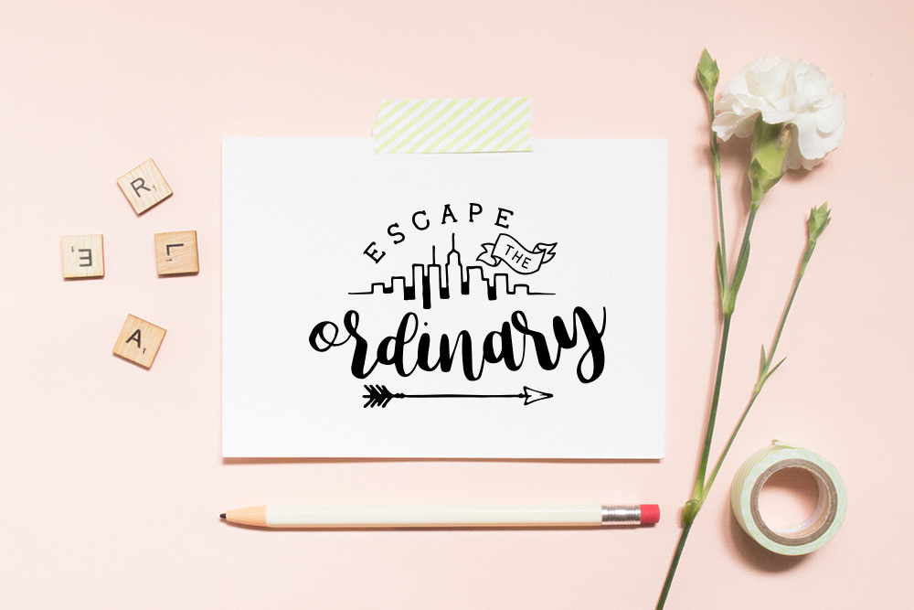 Inspirational Quote SVG Cut File Bundle example image 9