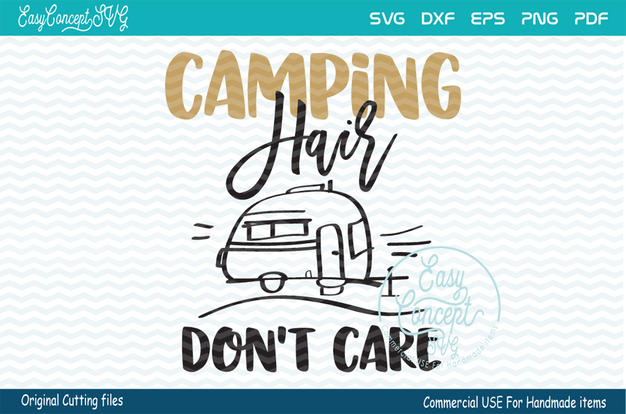 Camping Hair Don't Care example image 1