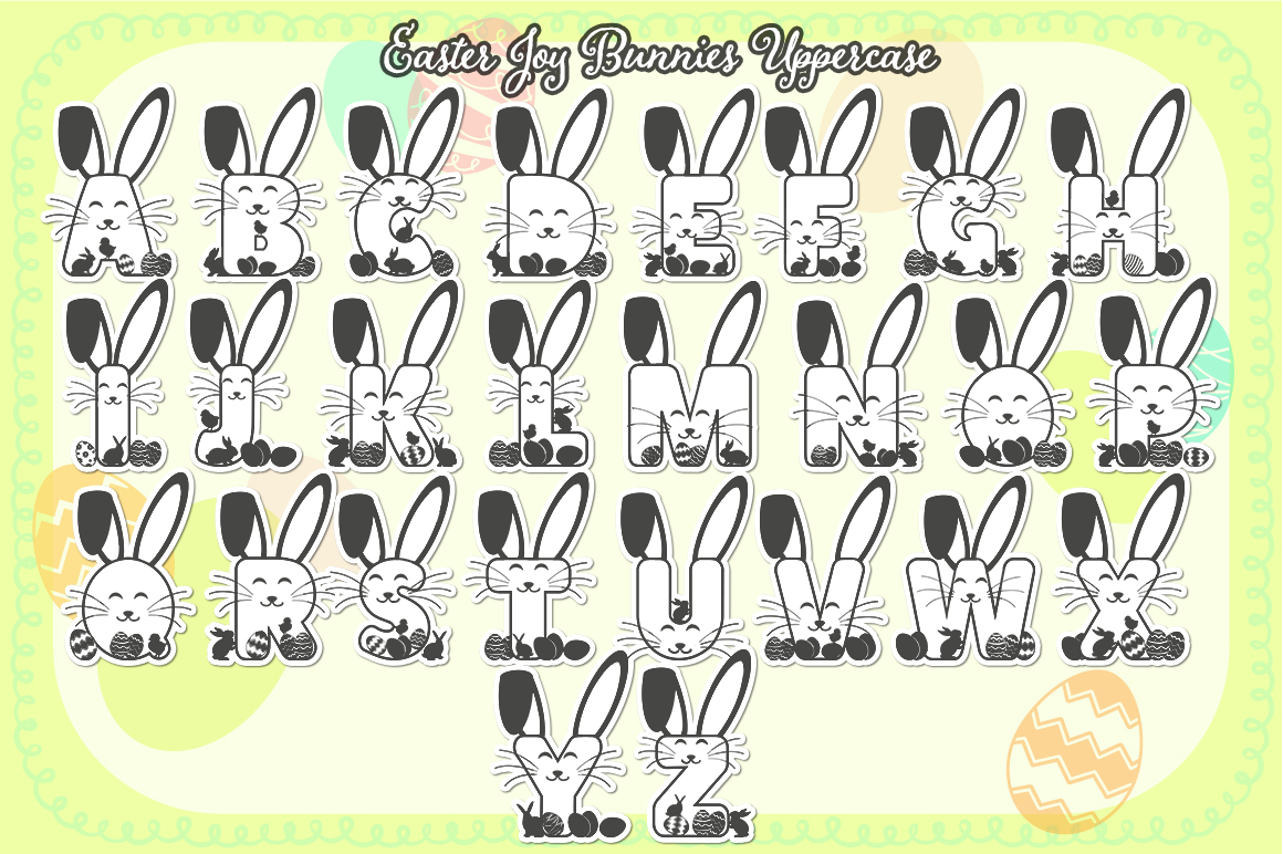 The Easter Joy Font Bundle example image 3