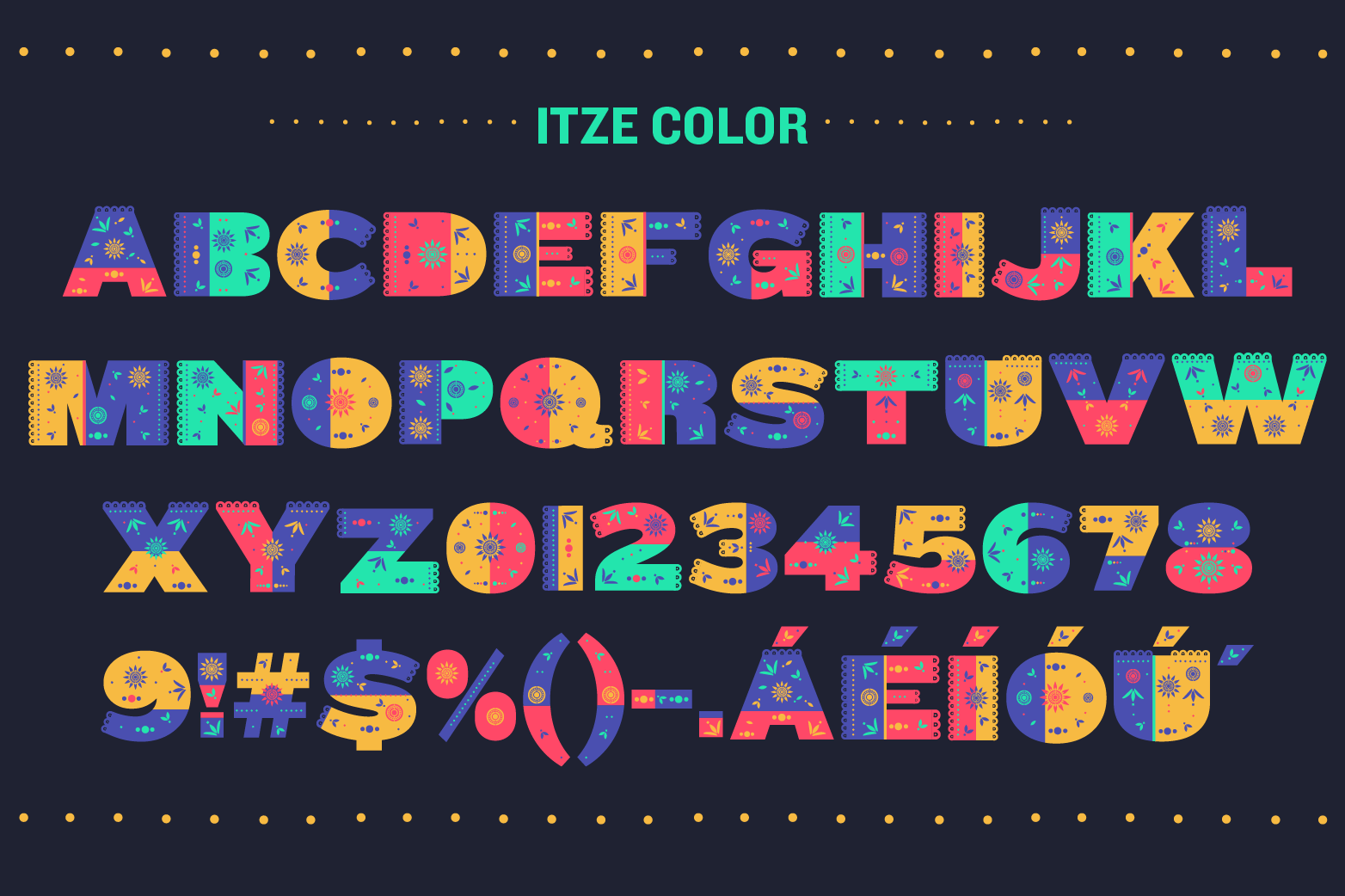 Itze Font example image 2