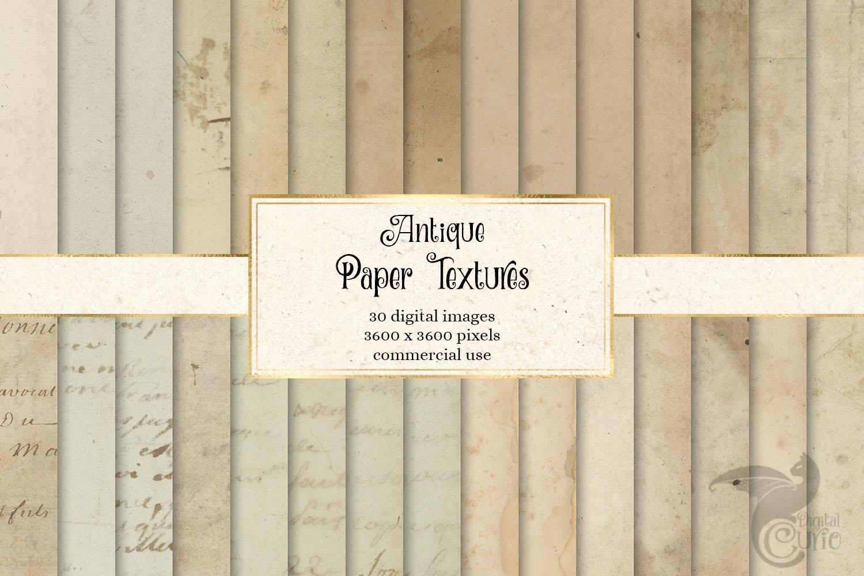 Antique Paper Textures example image 1