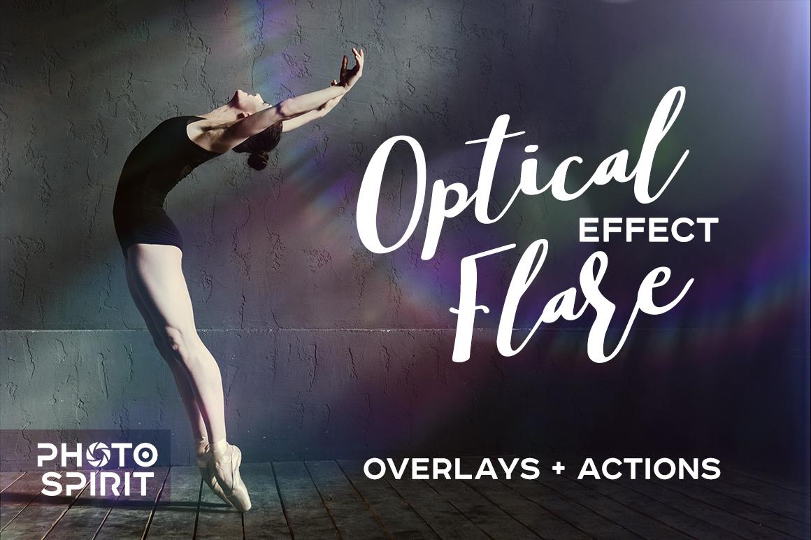 Optical Flare Overlay Effects example image 1
