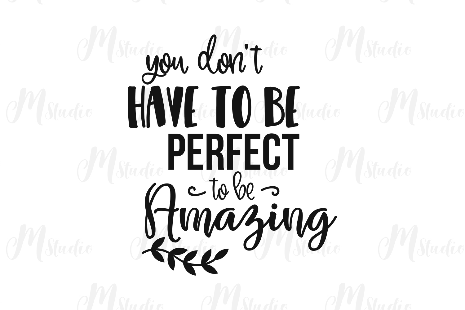 Inspirational Quotes svg Bundle example image 8