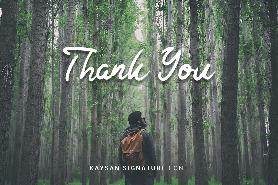 Kaysan Signature example image 14