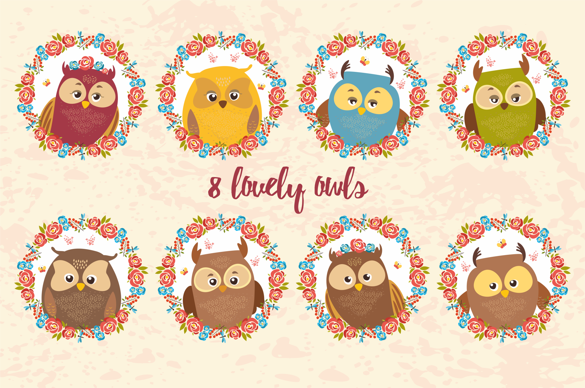 Charming Owls  example image 2