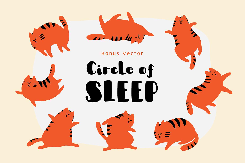 Sleepy Fat Cat example image 4