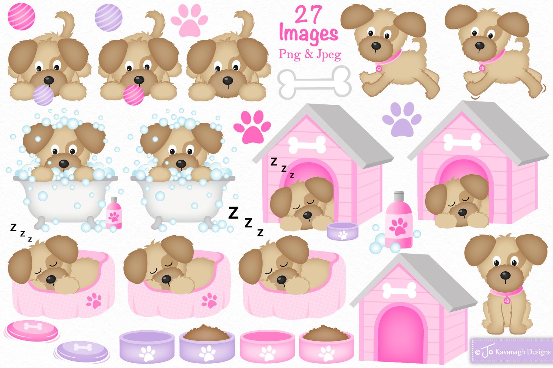 Dog clipart, Dog graphics & illustrations -C36 example image 2