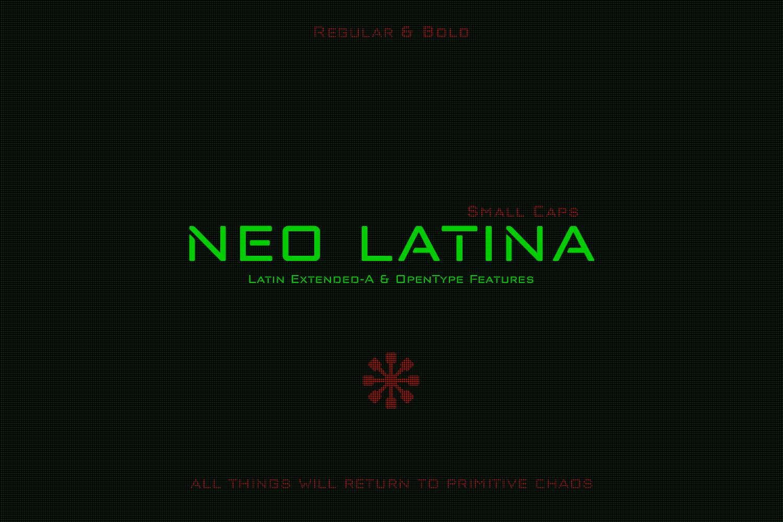 Neo Latina example image 1