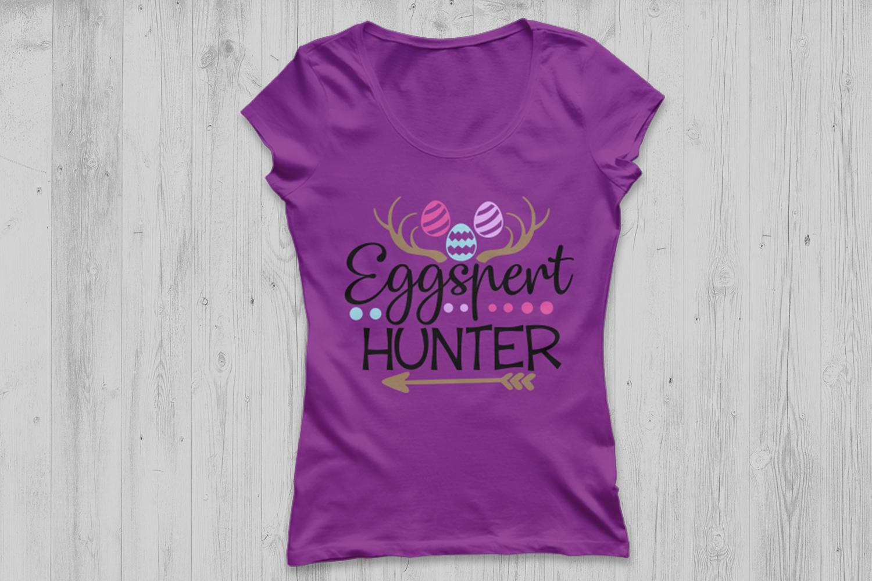 Eggspert Hunter Svg, Easter Svg, Easter Eggs Svg, Egg Hunter example image 2