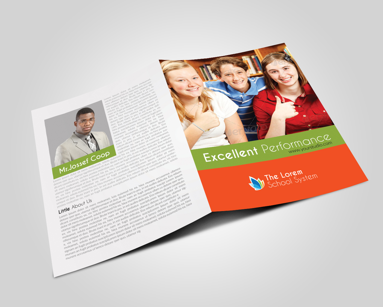 Education Bifold Brochure  example image 3