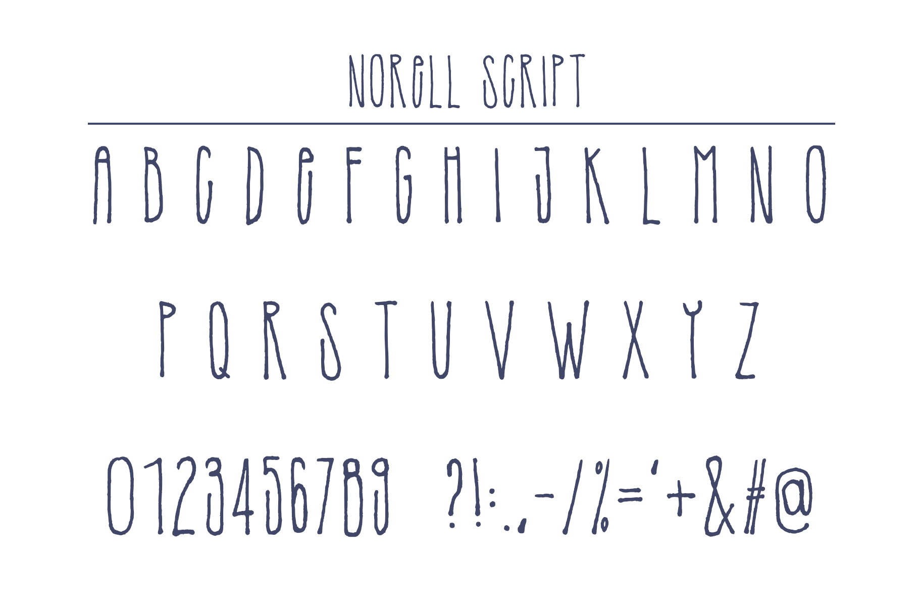 Norell Font example image 7