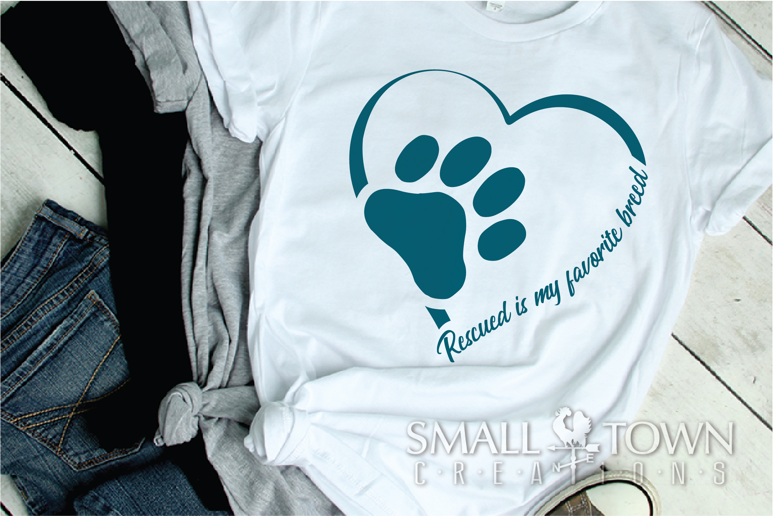 Rescued Cat, Adopted Cat, Cat breed, PRINT, CUT & DESIGN example image 2
