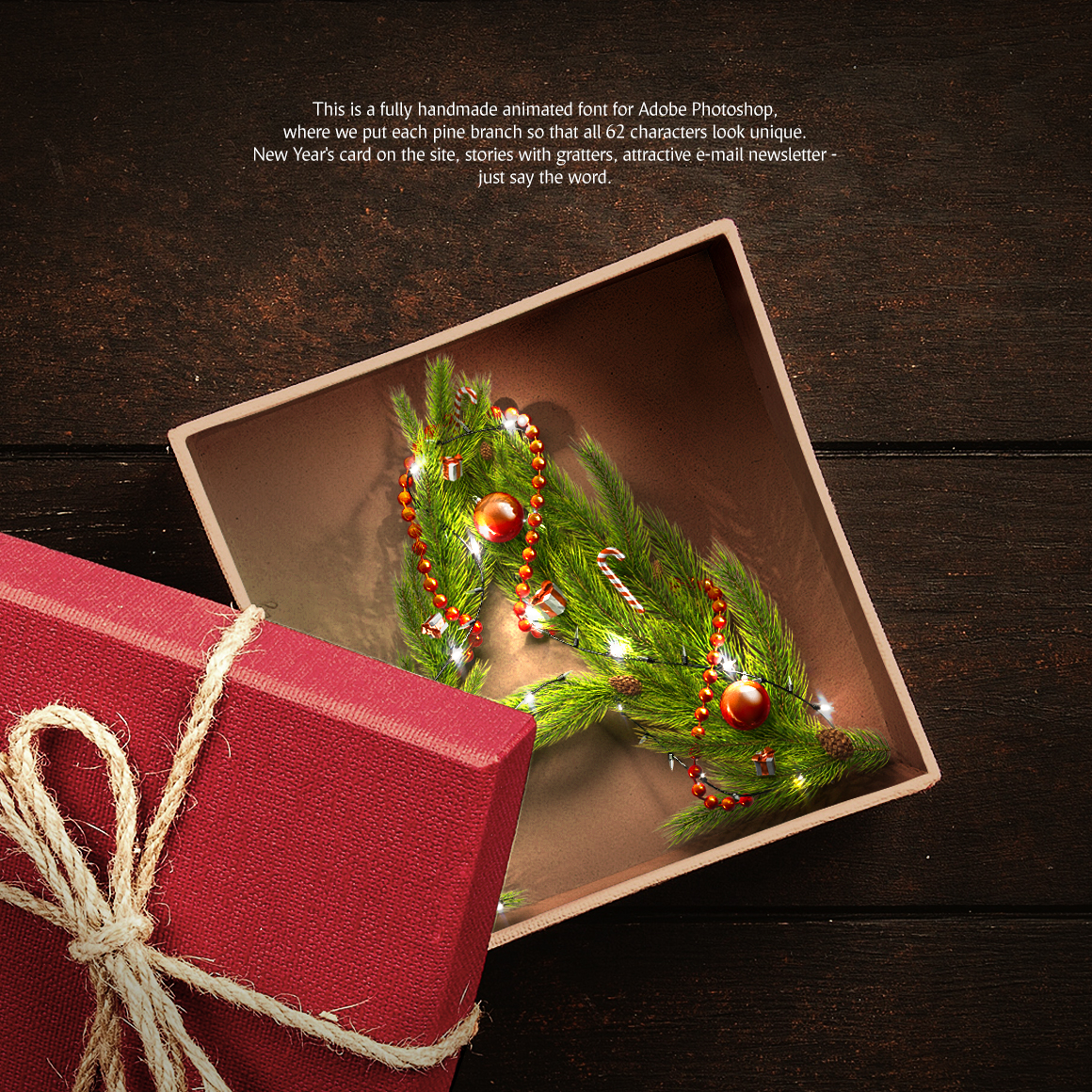 Christmas Animated Typeface example image 2