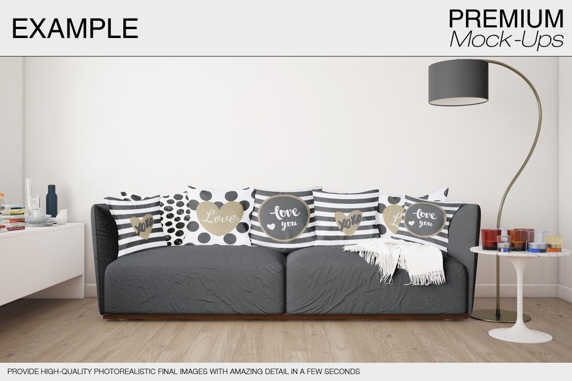 Pillow Mockup Set example image 3