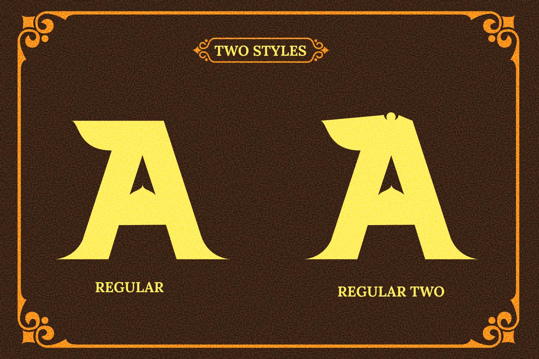 Barong Font and Bonus example image 9