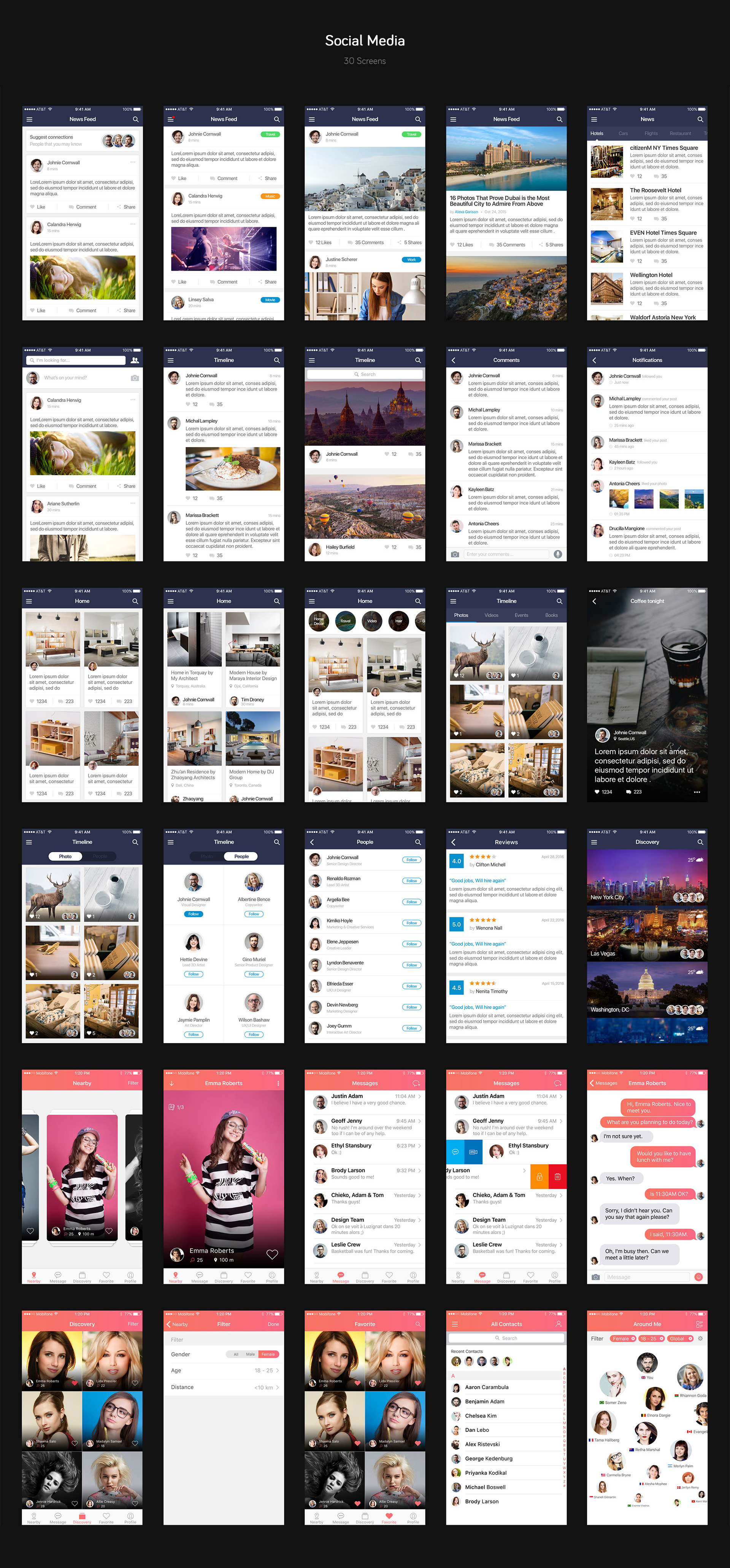 Mountify Mobile UI Kit example image 6