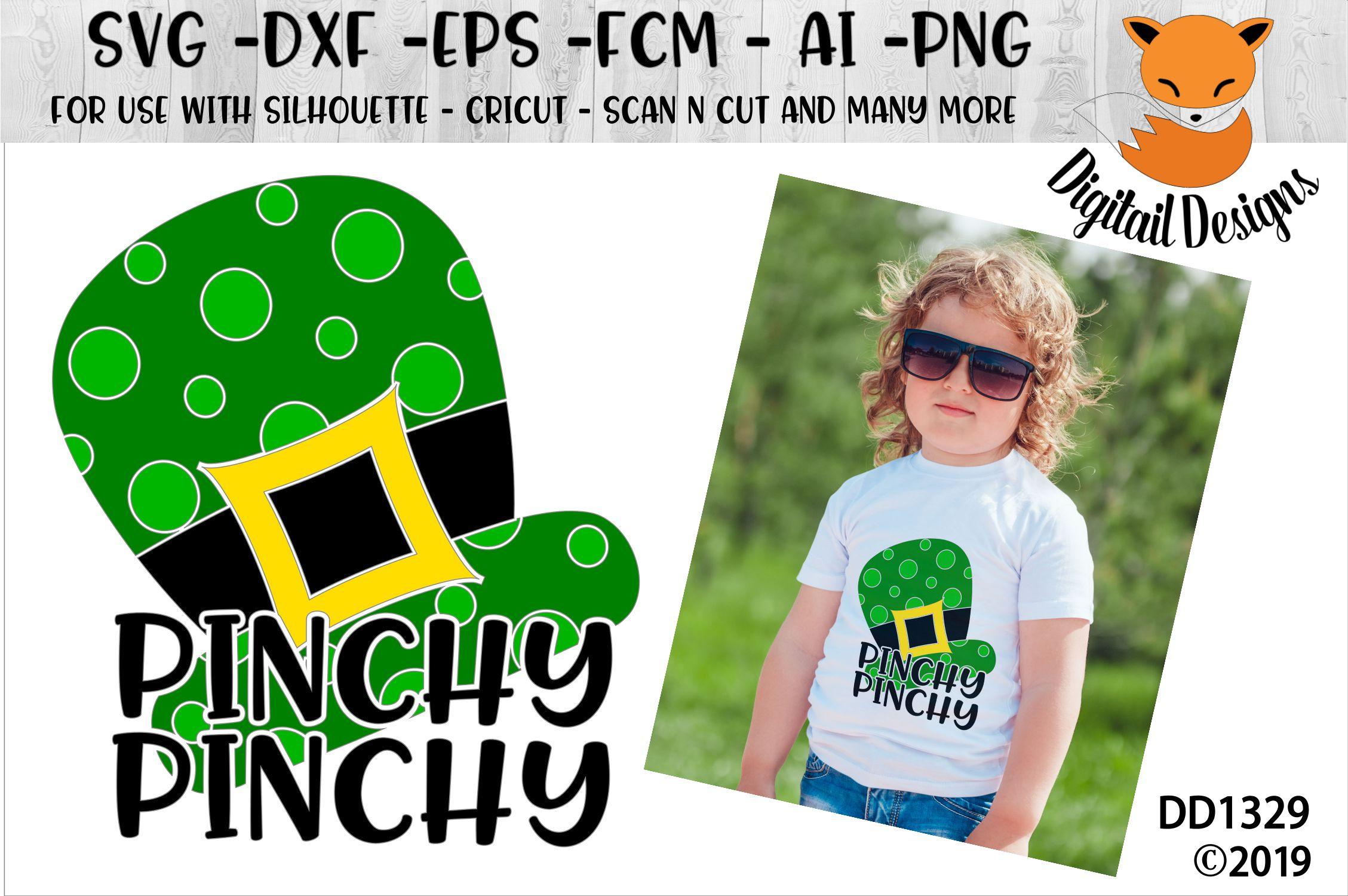 St Patrick's Day Irish Pinchy SVG example image 1