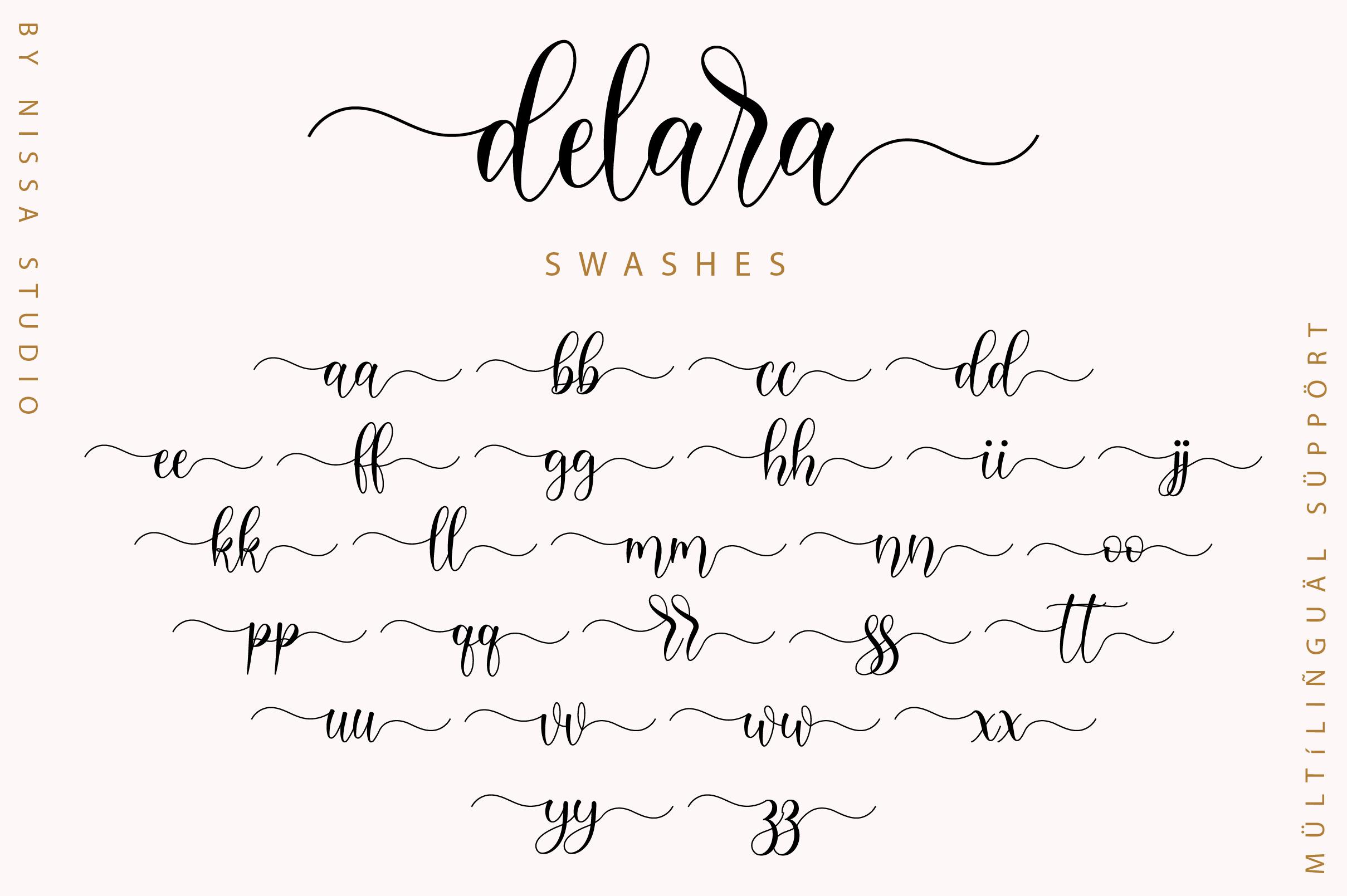 Delara Script example image 12