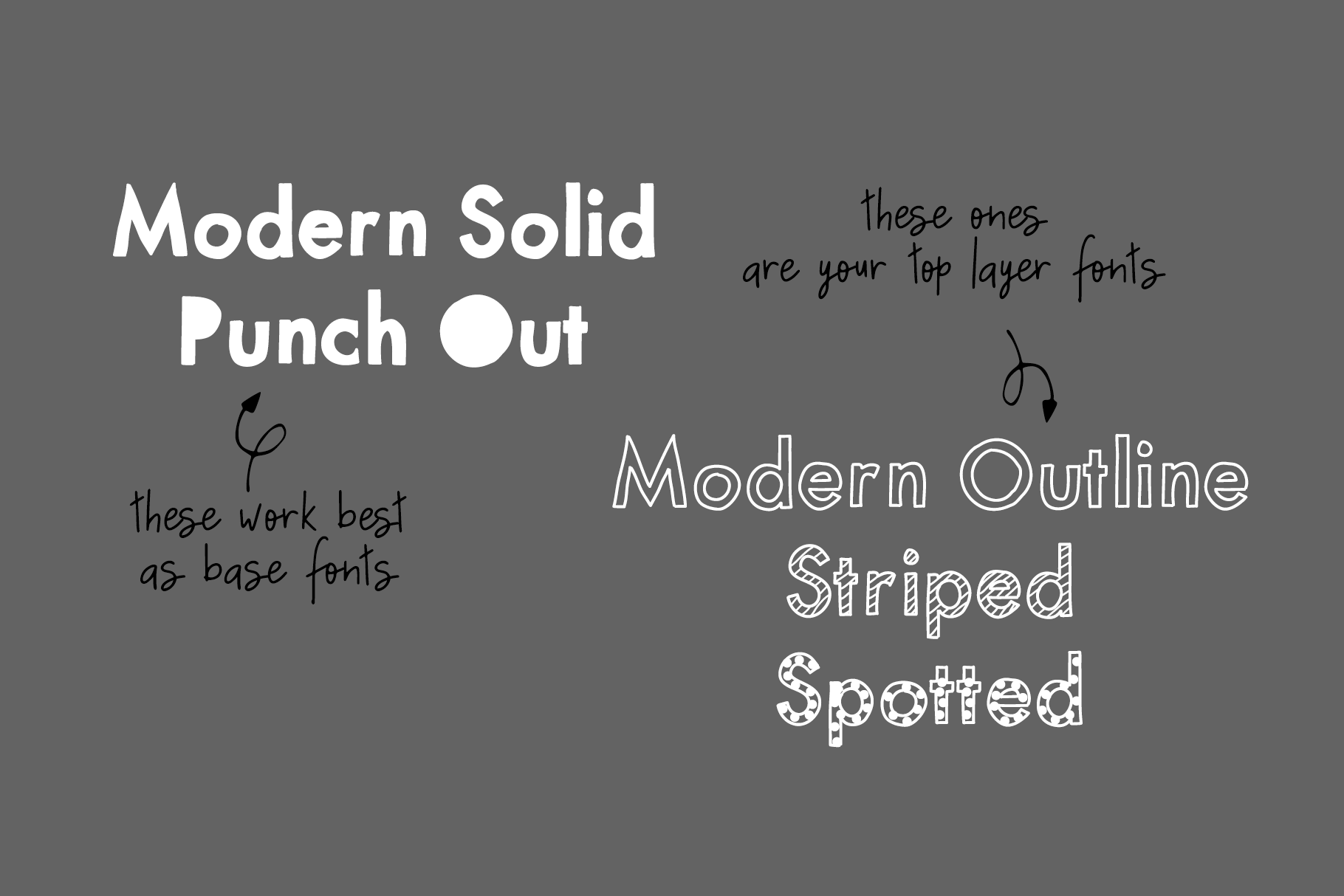 Mix Modern - A Layering Family of Fonts example image 6
