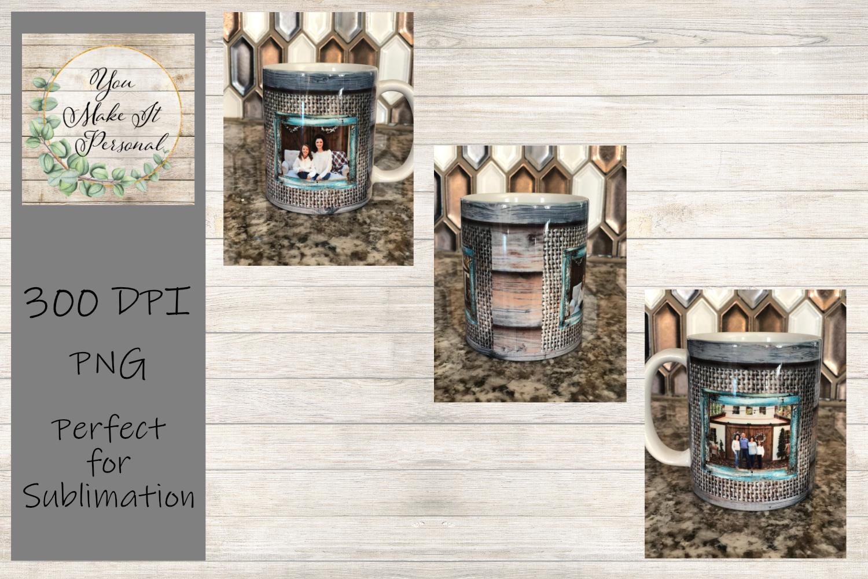 Set of 3 Sublimation Mug Designs, Farmhouse Designs for Mugs example image 4