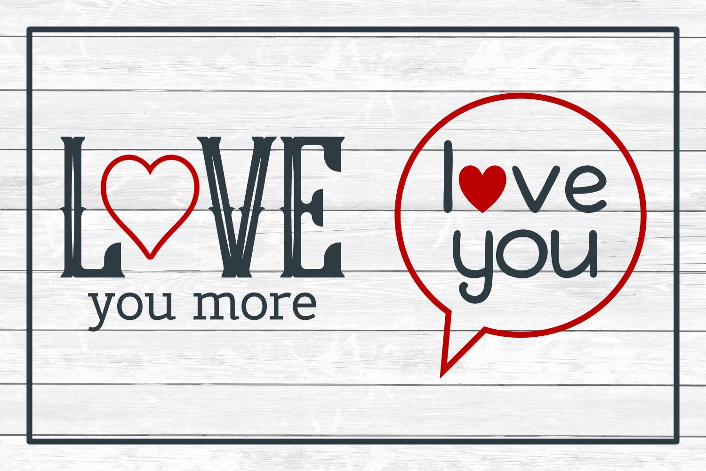 Love Design Bundle - Valentine SVG Cut Files example image 5