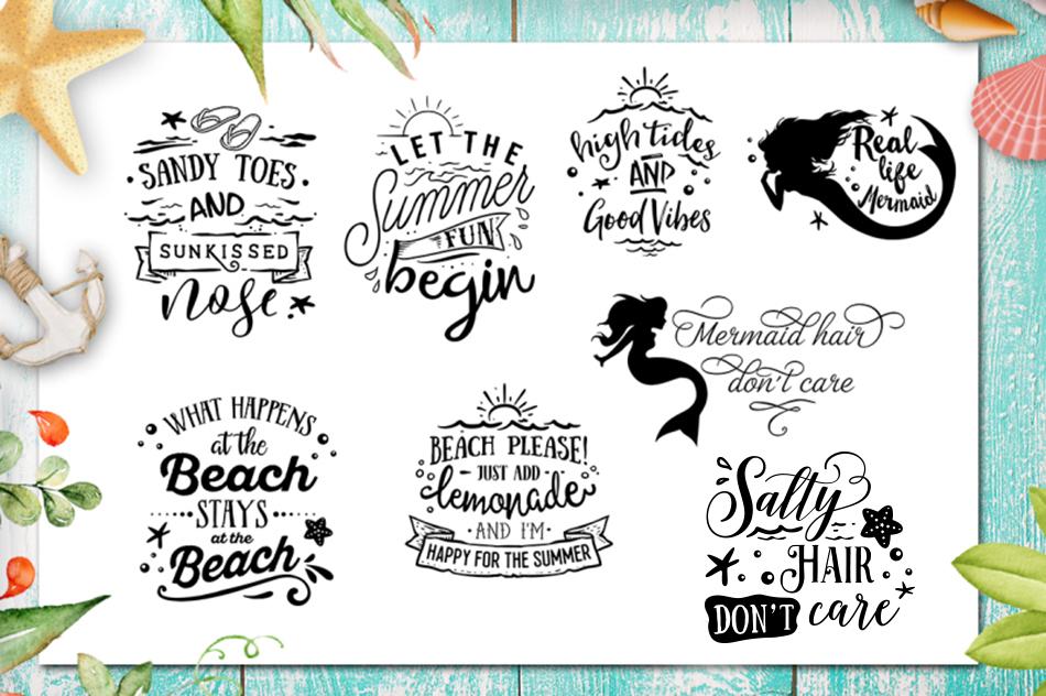 Summer SVG bundle 65 designs Beach SVG bundle example image 5