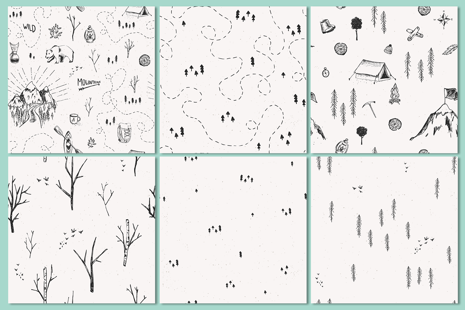 Big Adventure | Sketched Set example image 3
