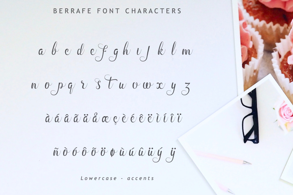 Berrafe Font example image 10
