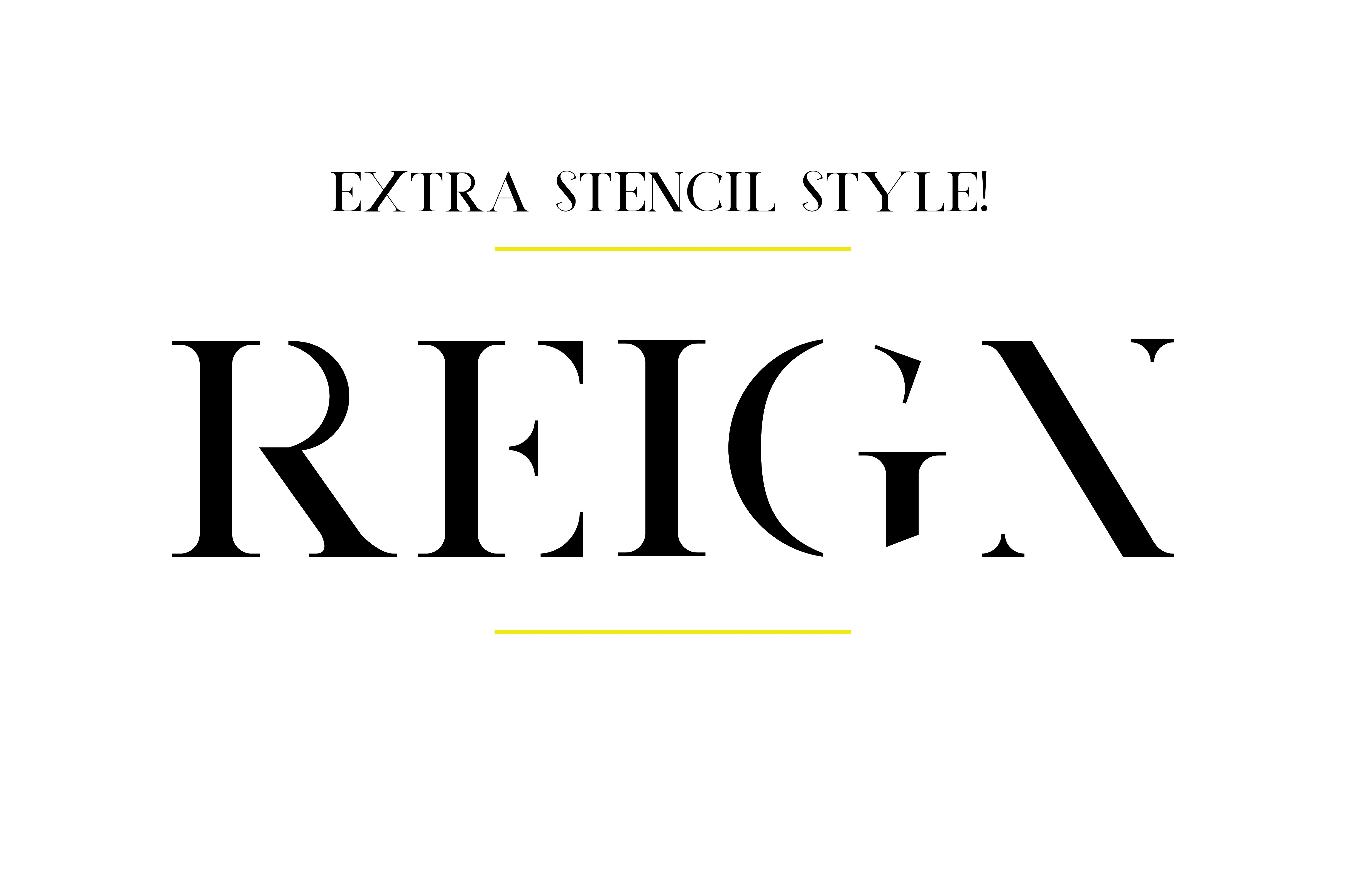 Reign Typeface example image 5