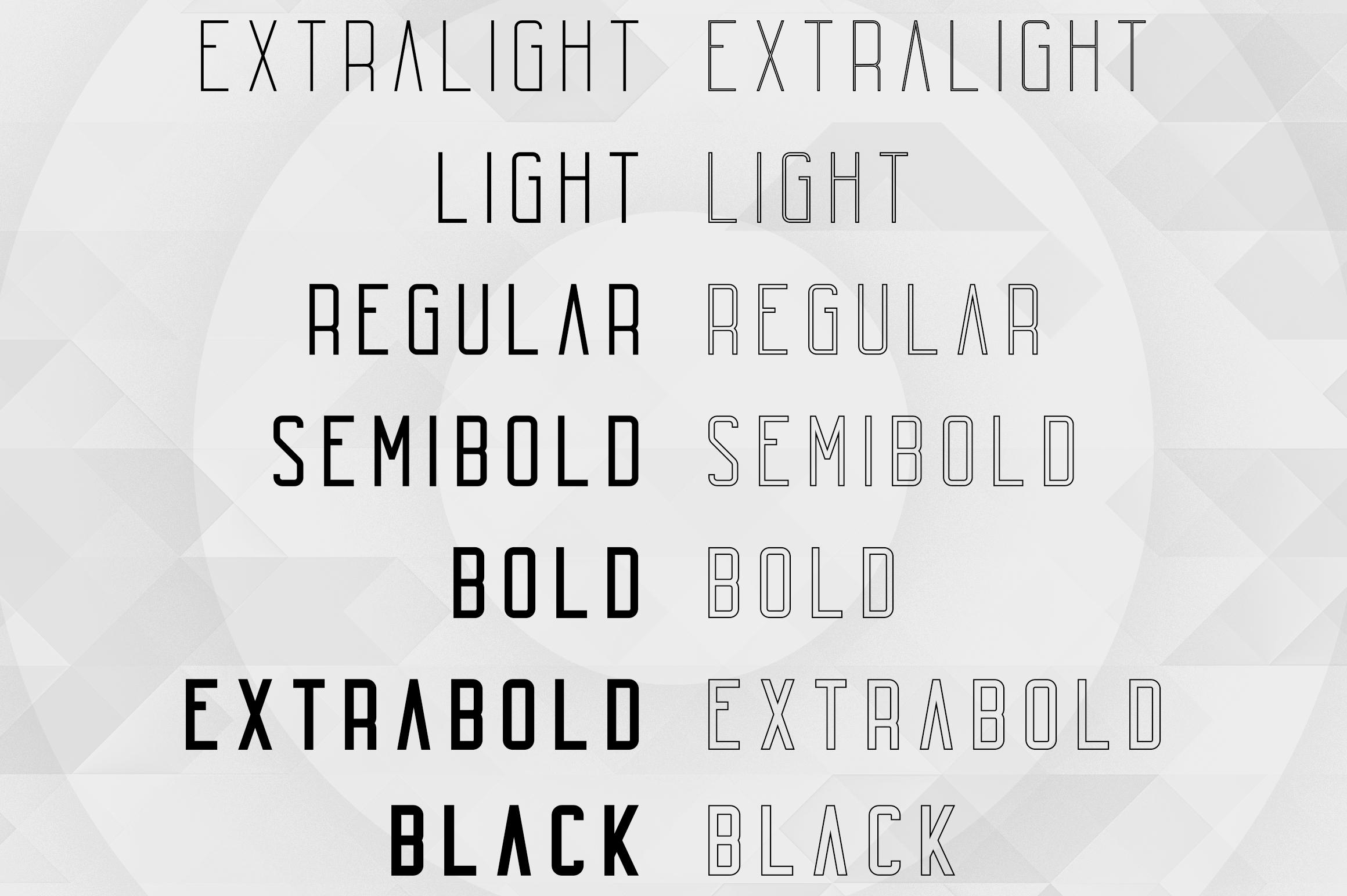 Echo 14 Font Family + Bonus example image 2