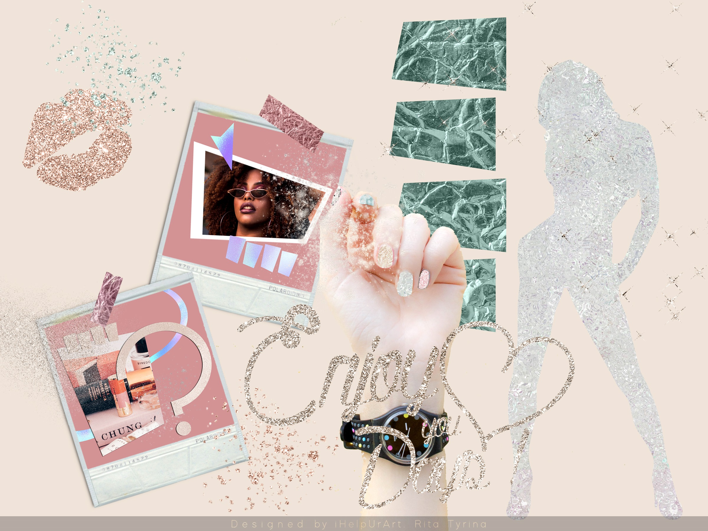 Glamour Textures Bundle example image 3