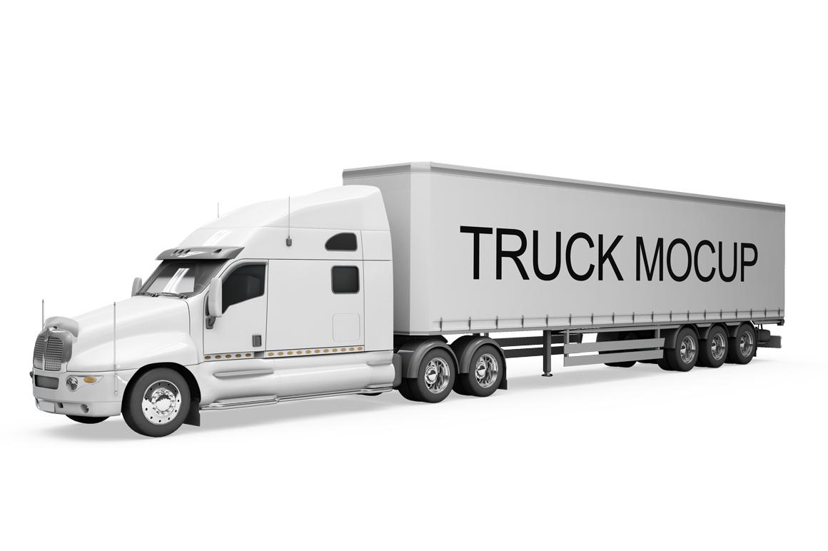 Truck Mockup example image 5